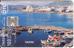 GREECE - Boats, Paros Island, 08/96, Used - Boats