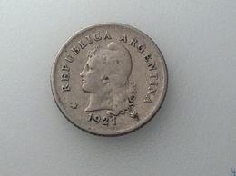 Argentine 10 Centavos 1921 - Argentine