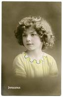 INNOCENCE : PRETTY GIRL (HAND COLOURED) - Portraits