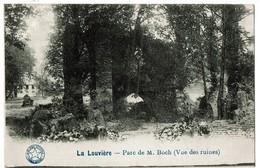 La Louvière - Parc De M. Boch - Vue Des Ruines - 2 Scans - La Louvière