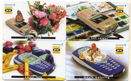 AFRIQUE DU SUD LOT 4 CARTES MTN TELEPHONE ERICSSON - Téléphones