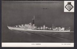 RPPC Modern Real Photo Postcard HMS Scorpion Royal Navy Ship Boat RP PC - Warships
