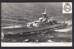 RPPC Modern Real Photo Postcard HMS Yarmouth Royal Navy Type 12 Frigate Ship RP - Warships