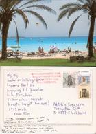 Cyprus 1995 Card From Aiya Napa, Used - Chypre
