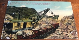 A Steam Shovel At Work On The Canal, The Panama Canal Is Being Dug With Bucuresti Shovels............ - Panama