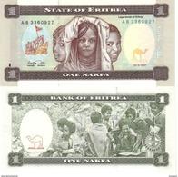 Eritrea 1 Nafka 24-1997 Pk 1 Ref 656-1 UNC - Eritrea