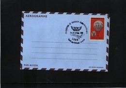 Haiti 1969 Aerogramme With FISA Postmark - Haiti