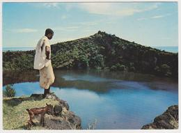 1466/ GRANDE COMORE. Le Lac Sacré.- Non écrite. Unused. No Escrita. Non Scritta. Ungelaufen. - Comores