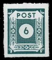 SBZ OSTSACHSEN Nr 43BIIb Postfrisch X814052 - Soviet Zone