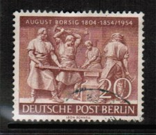 GERMANY---BERLIN  Scott # 9N 112 VF USED (Stamp Scan # 470) - Used Stamps