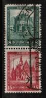 GERMANY  Scott # B 38-9 VF USED SE-TENNANT PAIR (Stamp Scan # 470) - Germany