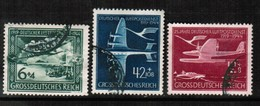 GERMANY  Scott # B 252 A-C VF USED (Stamp Scan # 470) - Used Stamps