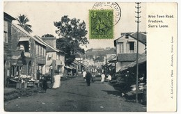CPA - SIERRA LEONE - Freetown - Kroo Town Road - Sierra Leone