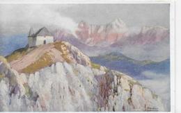 AK 0180  Dobratsch Bei Villach - Künstlerkarte V. L. Scheiring Um 1910-20 - Villach