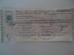 GREECE OLD  BANK BILLS   ΣΥΝΑΛΛΑΓΜΑΤΙΚΕΣ ,ΓΡΑΜΜΑΤΙΑ 10  DRX  2 SCAN - Chèques & Chèques De Voyage