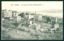 MAROC MAROKKO MOROCCO  CPA TANGER - VUE PRISE DU PALAIS DE MOULAY-HAFID - Morocco
