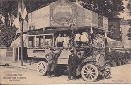 77 COULOMMIERS - Bureau Des Autobus (14 Juillet) - Café De L'Est - Bière GRUBER - Photo PASTANT - Gros Plan - RARETÉ - Coulommiers