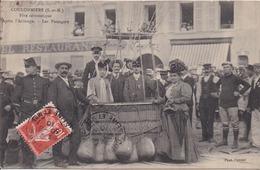 77 COULOMMIERS - Fête Aérostatique - Après L'Arimage - Les Passagers (nacelle Du Ballon) - Photo PASTANT - RARETÉ - Coulommiers