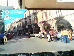CAVA DEI TIRRENI Salerno CORSO UMBERTO I AUTO CAR  ANIMATA T TABACCHERIA TABACCHI  N1975 HB8443 - Cava De' Tirreni