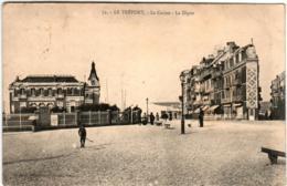 41il 1716 CPA - LE TREPORT - LE CASINO - LA DIGUE - Le Treport