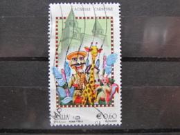 *ITALIA* USATO 2010 - FOLCLORE ACIREALE CARNEVALE - SASSONE 3149 - LUSSO/FIOR DI STAMPA - 6. 1946-.. Repubblica