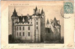 41lb 922 CPA - CHATEAU DE COUDRAY MONTPENSIER - Francia