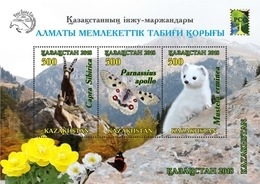 Kazakhstan  2018  Almaty  Nature Reserve  RCC   MNH - Kazakhstan
