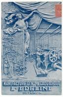 CPA - PUTEAUX (Hauts De Seine) - Publicité PNEUS GALLUS / Manufacture Gen. De Caoutchouc L'EDELINE - Puteaux