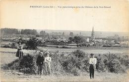 FRESNAY: VUE PANORAMIQUE PRISE DU CHATEAU DE LA NOE BRIORD - France