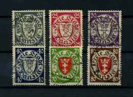DANZIG 1935 Nr 245-250 Gestempelt (112800) - Danzig