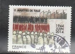 FRANCE 2014 MARTYRS DE TULLE OBLITERE  YT 4865 - - France