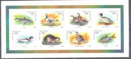 1998. Kyrgyzstan,  Wildlife Of Kyrgyzstan, S/s Imperforated, Mint/** - Kyrgyzstan