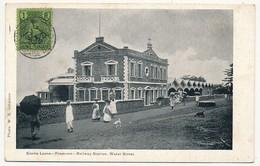 CPA - SIERRA LEONE - Freetown - Railway Station. Water Street - Sierra Leone