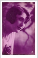 DONNA PRIMO PIANO 1931  VIAGGIATA FP - Mujeres