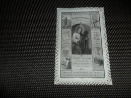 Devotieprentje ( G 799 ) Image Pieuse  Immaginette Sacre Image à Dentelles  Met Kant - Devotion Images