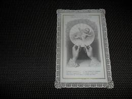 Devotieprentje ( G 800 ) Image Pieuse  Immaginette Sacre Image à Dentelles  Met Kant - Images Religieuses