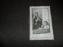 Devotieprentje ( G 801 ) Image Pieuse  Immaginette Sacre Image à Dentelles  Met Kant   S. Ephréem - Devotion Images