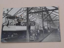 """SALON NAUTIQUE à Paris ( Stand V. DESPUJOLS ) """" U.S.N.F. """"  ( Carte Photo ) Anno 19?3 ( Zie/voir Photo ) ! - Bateaux"""