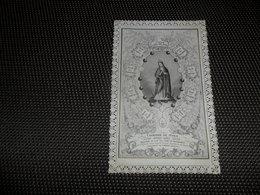 Devotieprentje ( G 803 ) Image Pieuse  Immaginette Sacre Image à Dentelles  Met Kant Marie - Bouasse - Lebel , Paris - Devotion Images