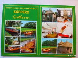 NETHERLAND Holland - 2012. Beautiful Town Giethoorn - Boat Ride Ticket Card. - Tickets - Vouchers