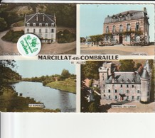 03 - Carte Postale Semi Moderne De MARCILLAT EN COMBRAILLE   Multi Vues - Andere Gemeenten