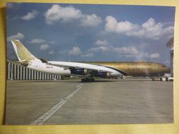 GULF AIR   AIRBUS A 340    A40 LG - 1946-....: Ere Moderne