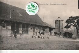 71 - Carte Postale Ancienne  De BEAUREPAIRE  Ferme Au Chateau Du Bas - Other Municipalities