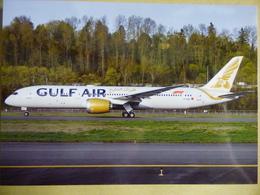 GULF AIR   B 787 900   N1789B - 1946-....: Ere Moderne