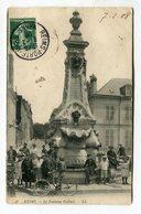 CPA 51 : REIMS  Fontaine Godinot Très Animée    A  VOIR   !!!! - Reims
