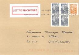 Beaujard       -   La Poste   9831A         01.12.10   3èm échelon - Storia Postale