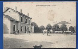 GONDRECOURT    La Gare    Animées    écrite En 1916 - France