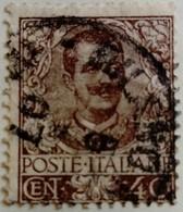 Italie Italy Italia 1901 Victor Emmanuel III Yvert 70 O Used Usato - Usados
