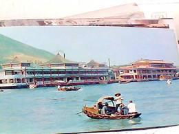 CHINA HONG KONG ABERDEEN-SCENE WITH FLOATING RESTAURANTS N1975 HB8454 - Cina (Hong Kong)