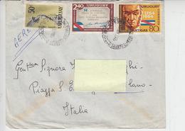 URUGUAY  1965 - Yvert A197-A270-732- Storia - Uruguay